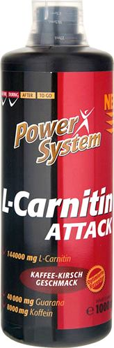 Карнитин Power System L-Carnitin Attack 3600