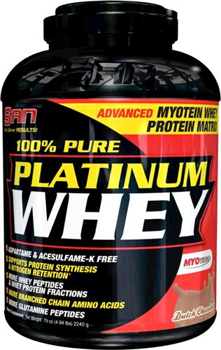 100% Pure Platinum Whey - протеин SAN