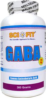 Активаторы гормона роста Sci Fit GABA Powder