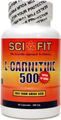 Карнитин Sci Fit L-Carnitine 500