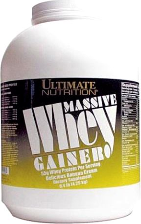 Гейнер Ultimate Nutrition Massive Whey Gainer