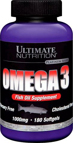 Омега-3 Ultimate Nutrition Omega-3 1000mg