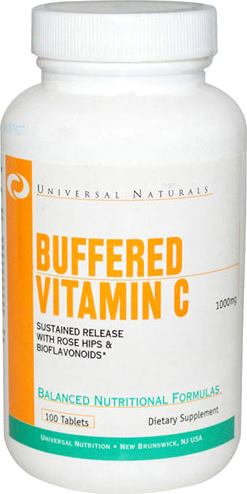 Витамин Ц Universal Nutrition Buffered Vitamin C