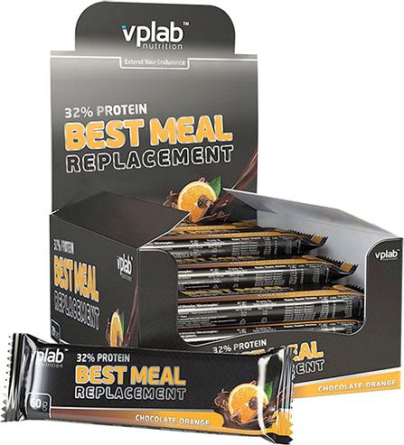 Протеиновые батончики Vplab 32% Protein Best Meal Replacement (VP laboratory)