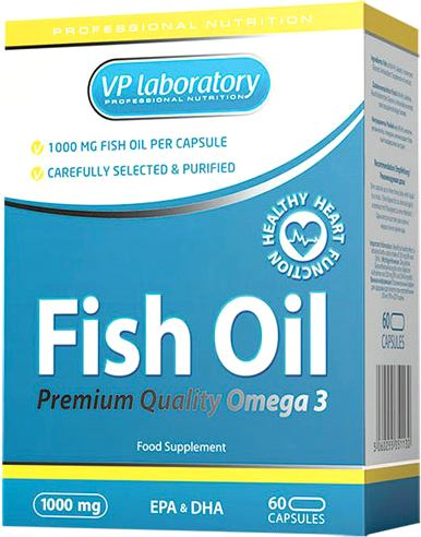 Рыбий жир Омега-3 Vplab Fish Oil (VP laboratory)