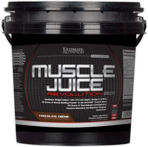 Высококалорийный гейнер Muscle Juice Revolution 2600 от Ultimate Nutrition