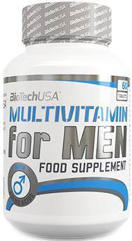 Витамины для мужчин Multivitamin for Men от BioTech USA