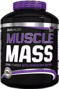 Высококалорийный гейнер Muscle Mass от BioTech USA