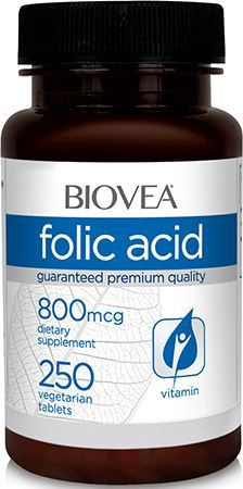 Фолиевая кислота BIOVEA Folic Acid