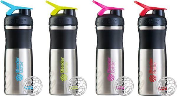 Шейкер/Спортивная бутылка SportMixer Stainless от BlenderBottle