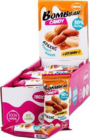 Протеиновые конфеты BombBar Candy