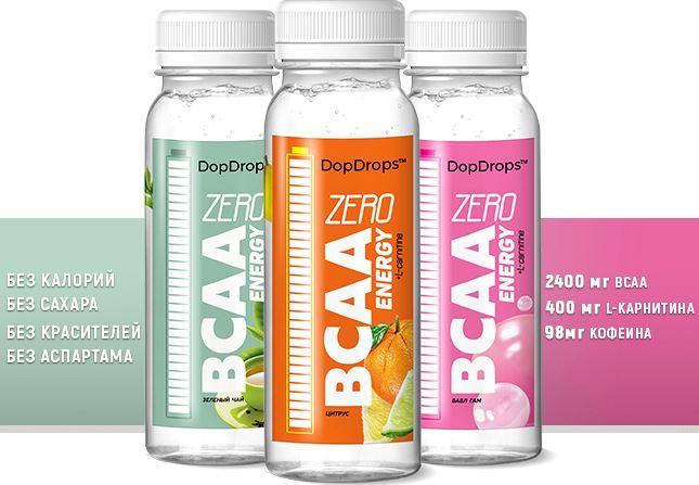 DopDrops BCAA Energy Zero Carbs