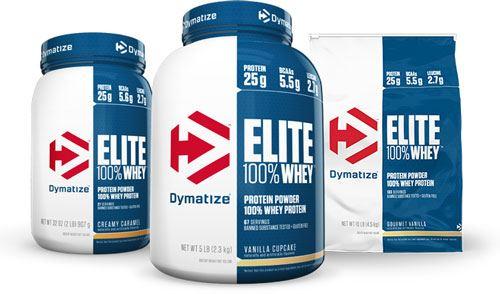 Сывороточный протеин Elite 100% Whey от Dymatize