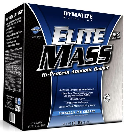 Гейнер Elite Mass Gainer от Dymatize