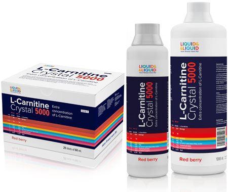 Карнитин L-Carnitine Crystal 5000 от LiquidLiquid