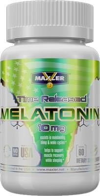 Мелатонин Melatonin 10mg от Maxler