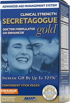 Активатор гормона роста Secretagogue Gold Clinical Strength от MHP