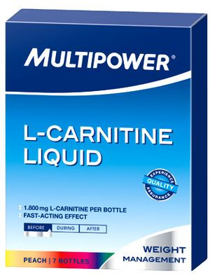 Multipower L-Carnitine Liquid 7 бутылочек