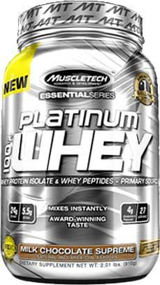 Сывороточный изолят Platinum 100% Whey Essential Series от Muscle Tech