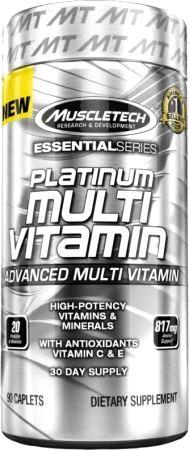 Витаминно-минеральный комплекс Platinum Multi Vitamin Essential Series от MuscleTech