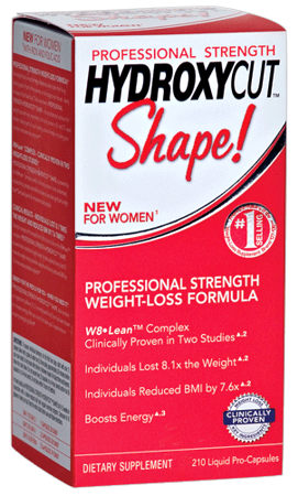 Жиросжигатель Professional Strength Hydroxycut Shape