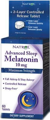 Мелатонин Advanced Sleep Melatonin от Natrol