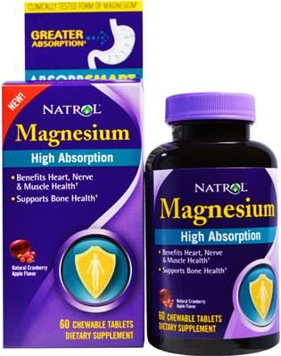 Магний High Absorption Magnesium от Natrol
