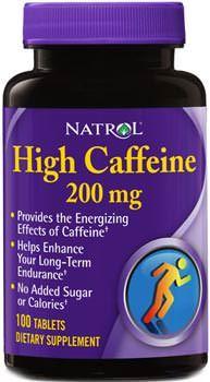 Кофеин High Caffeine от Natrol
