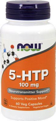 Аминокислота триптофан 5-HTP 100mg от NOW