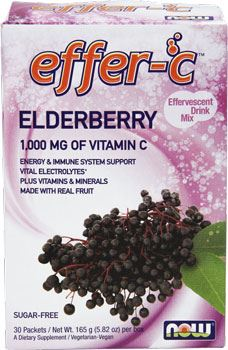 Витамин Ц NOW Effer-C 1000mg Vitamin C