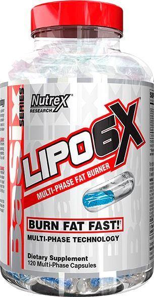 Жиросжигатель Nutrex Lipo-6X US