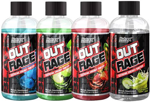 Энергетик Outrage Extreme Energy Igniter от Nutrex