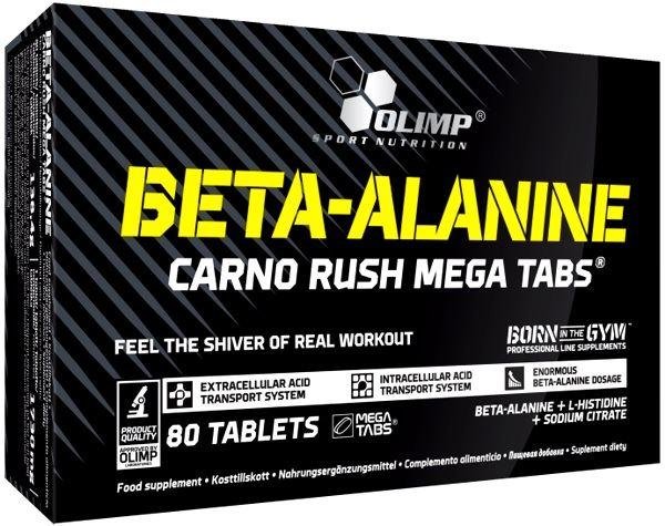 Бета-аланин Olimp Beta-Alanine Carno Rush Mega Tabs