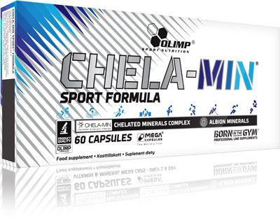 Минералы Chela-Min Sport Formula от Olimp