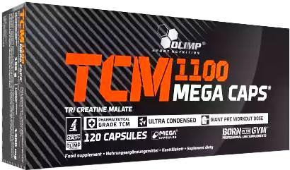 Креатин малат TCM Mega Caps 1100 от Olimp
