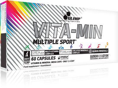 Витаминно-минеральный комплекс Vita-Min Multiple Sport Mega Caps от Olimp