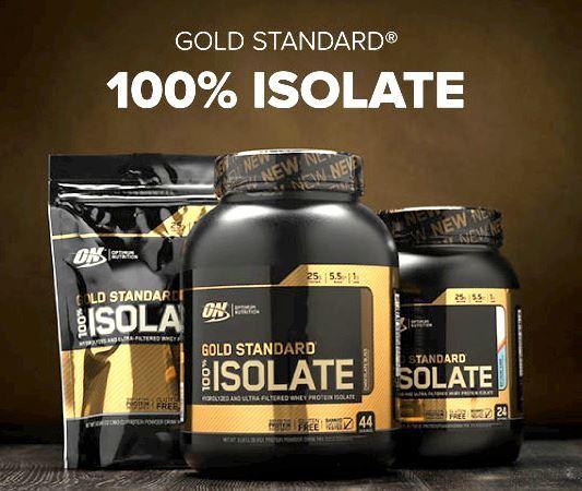 Optimum Nutrition 100 Isolate Gold Standard