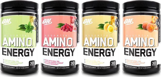 Аминокислоты Optimum Nutrition Essential Amino Energy Tea Series