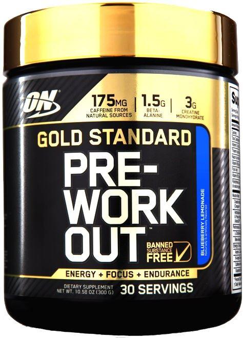 Предтренировочный комплекс PRE-WORKOUT Gold Standard от Optimum Nutrition