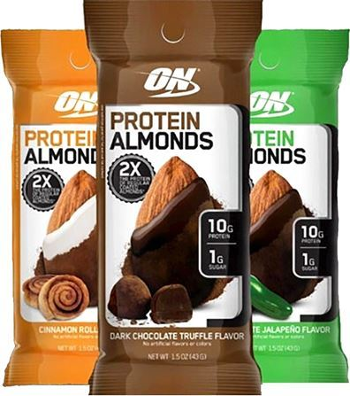 Миндаль в шоколаде Optimum Nutrition Protein Almonds