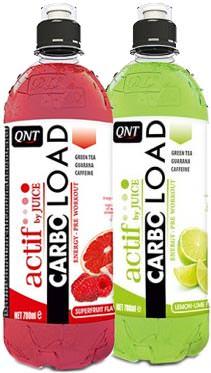 Энергетический напиток Carbo Load Actif by Juice от QNT