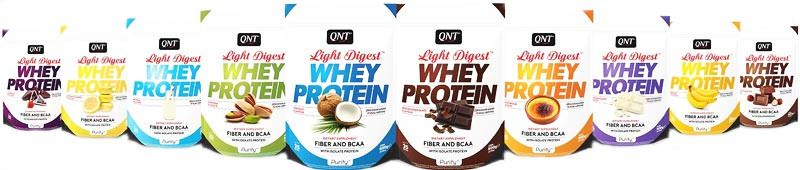 Сывороточный протеин Light Digest Whey Protein от QNT