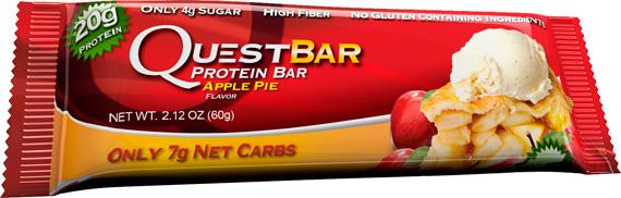 QuestBar со вкусом Apple Pie (Яблочный пирог)