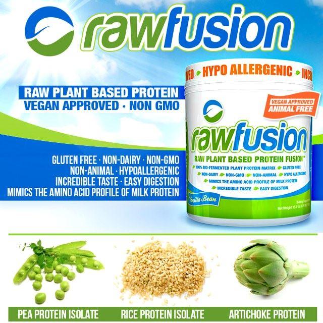 Raw Fusion - растительный протеин от SAN