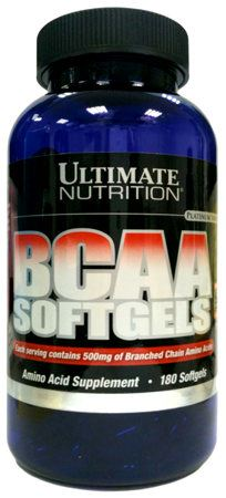 BCAA Softgels от Ultimate Nutrition