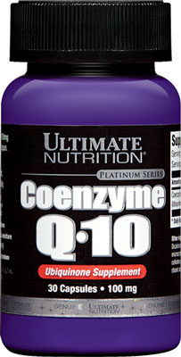 Коэнзим Ку10 Coenzyme Q10 от Ultimate Nutrition