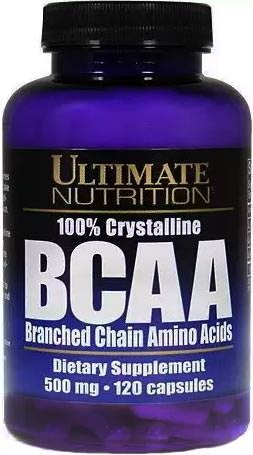 100% Crystalline BCAA 500mg от Ultimate Nutrition
