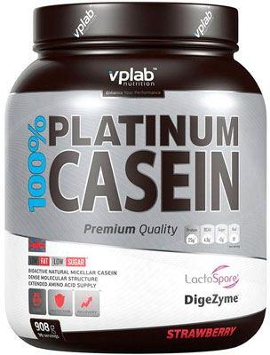 Казеин 100% Platinum Casein от Vplab